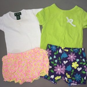 🌺Baby girls outfit size 6-9 Months bundle